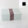 Декоративна кутија за накит Lila Sparkel 25x15x8cm.
