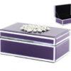 Кутија за накит – стаклена Lila 21x14x8cm
