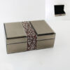 Кутија за накит Red Sparkle 25x15x8cm