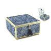Кутија за накит Lace Efect Blue, 15x13x8cm