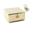 Кутија за накит Lace Efekt Gold, 15x15x8cm