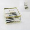 Кутија за накит Poeny Flowers 13x14x6cm