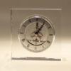 Декоративен часовник – проѕирно стакло 12x12x5cm