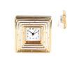 Часовник за на маса Bullet Gold 14x14x6cm