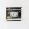 Часовник за на маса ефект на огледало Sparkle Stone 18x4x14cm