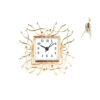 Декоративен часовник Gold Meduza 14x14x4cm