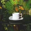 CK PLAIN CUP&SAUCER 100ml 3907489160959